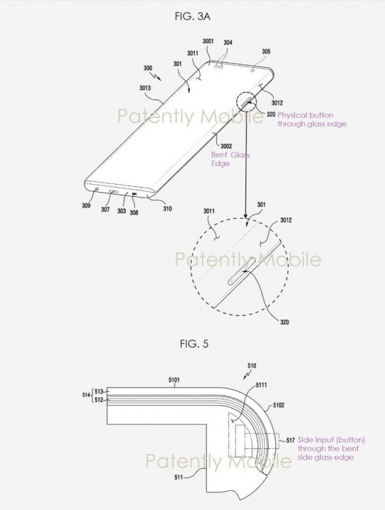 Paten layar 'kaskade' terdaftar oleh Samsung.