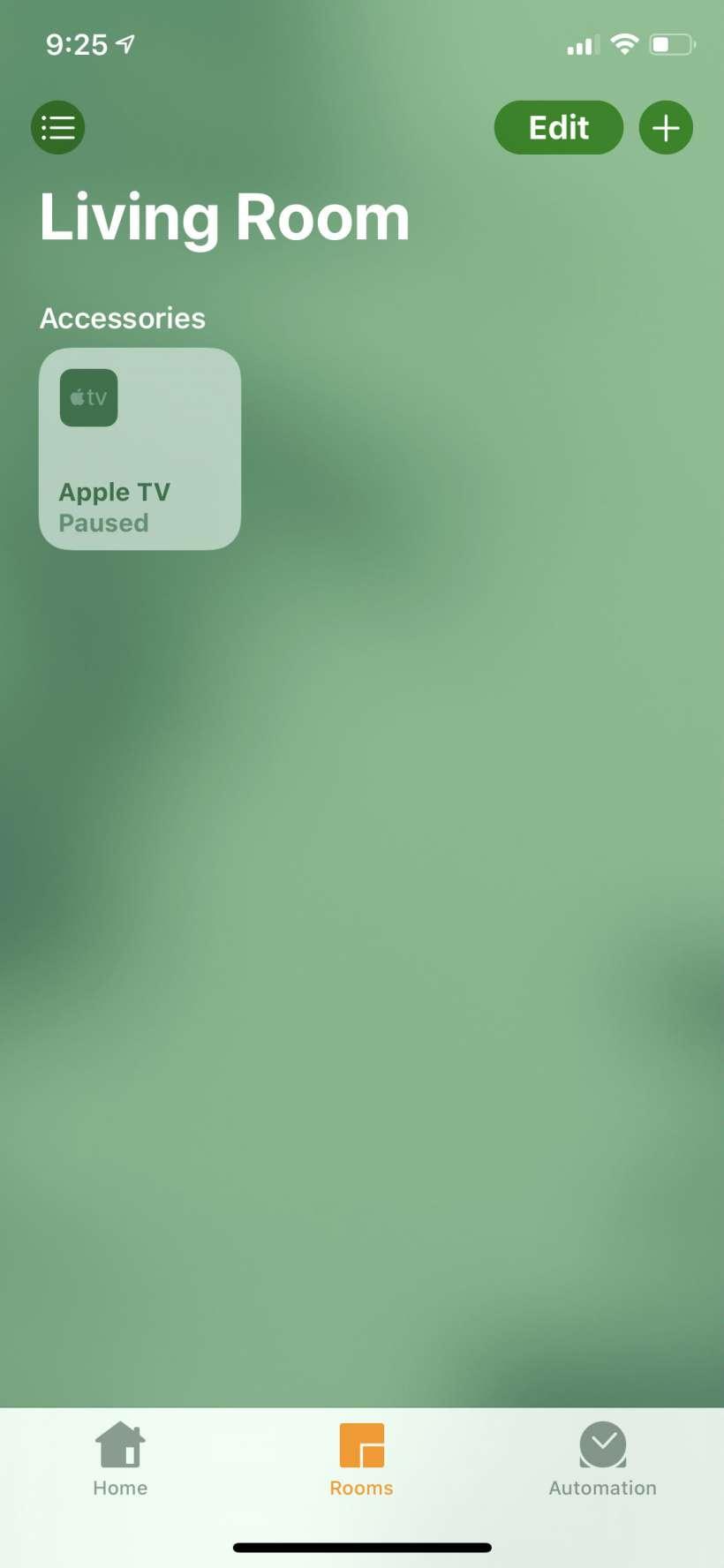 Ekleme Apple İPhone ve iPad'de TV'den Ev uygulamasına.