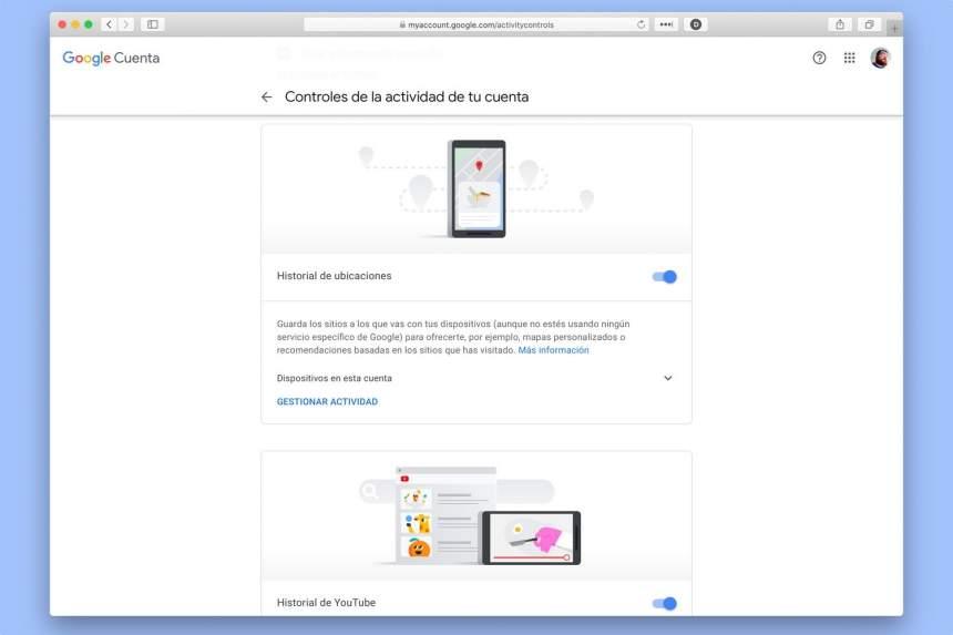 Android-də Google yer tarixini söndürün 3