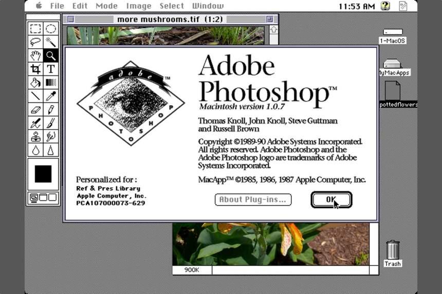 Rəqəmsal geri çəkilmə meyarı olan Photoshop 30 yaşındadır 2