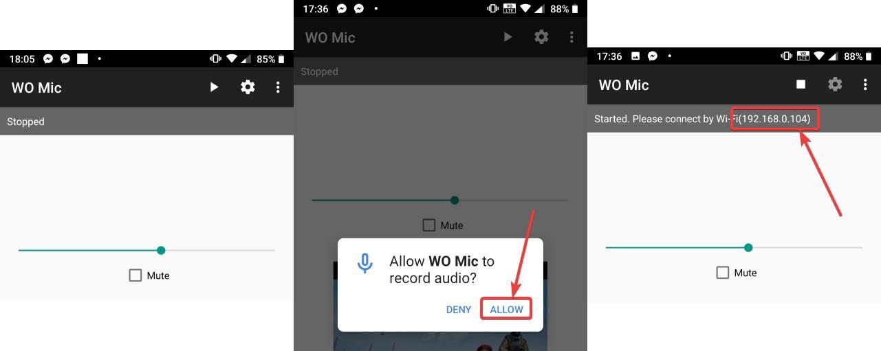 poslať zvuk zo smartfónu do PC