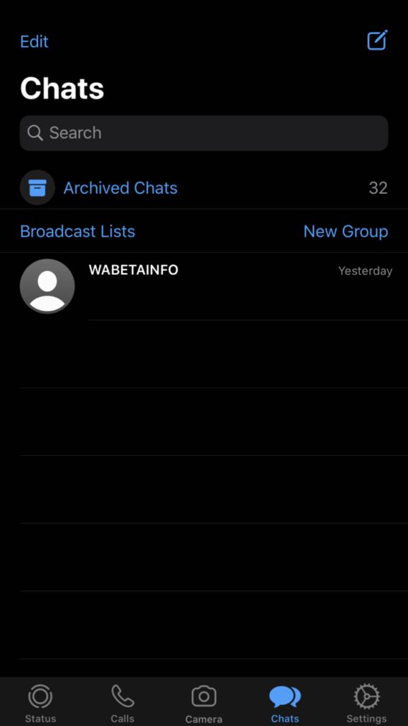 1582383621 857 WhatsApp Messenger Beta untuk iPhone Hadir dengan Mode Gelap Didesain