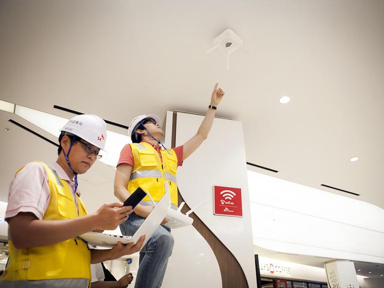 SK Telecom meluncurkan 4.8Gbps Wi-Fi