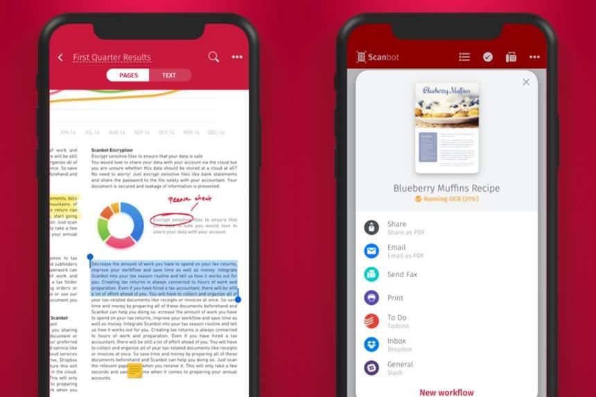 İPhone və Android-də sənədləri skan etmək üçün mobil tətbiqetmə 3