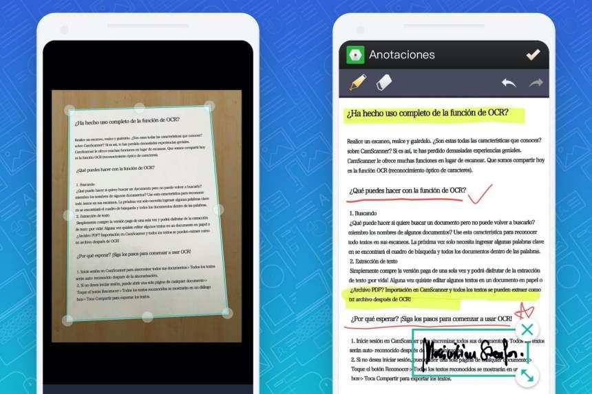 İPhone və Android-də sənədləri skan etmək üçün mobil tətbiqetmə 2