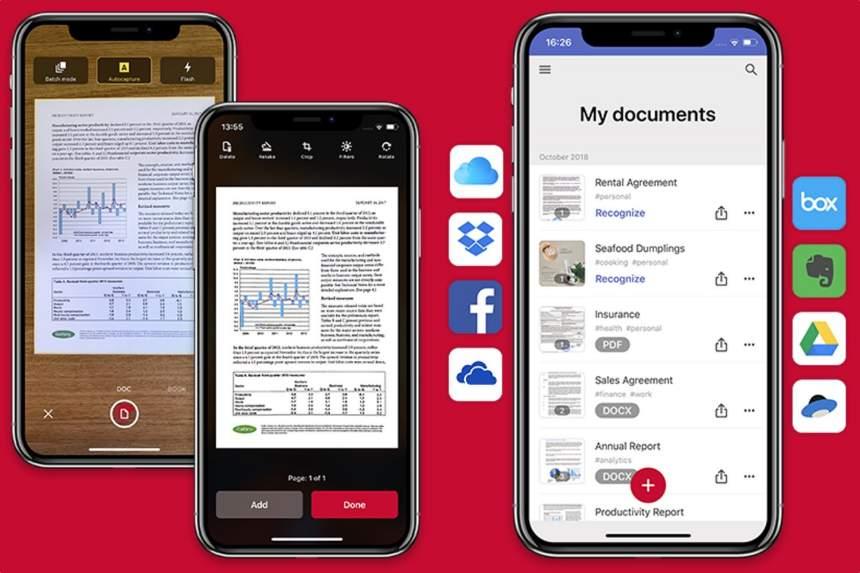 İPhone və Android-də sənədləri skan etmək üçün mobil tətbiqetmə 5
