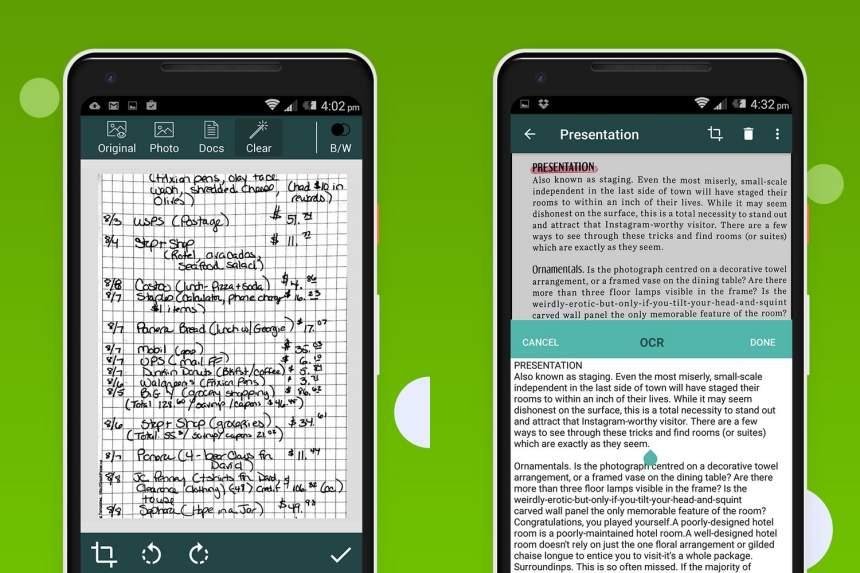 İPhone və Android-də sənədləri skan etmək üçün mobil tətbiqetmə 6
