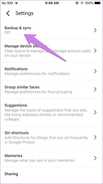 Icloud Iphone trong Google Photos 3