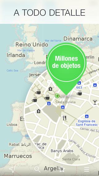 Maps.Me untuk iPhone, peta offline sehingga Anda tidak pernah tersesat 4