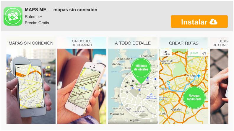 Maps.Me untuk iPhone, peta offline sehingga Anda tidak pernah tersesat 6