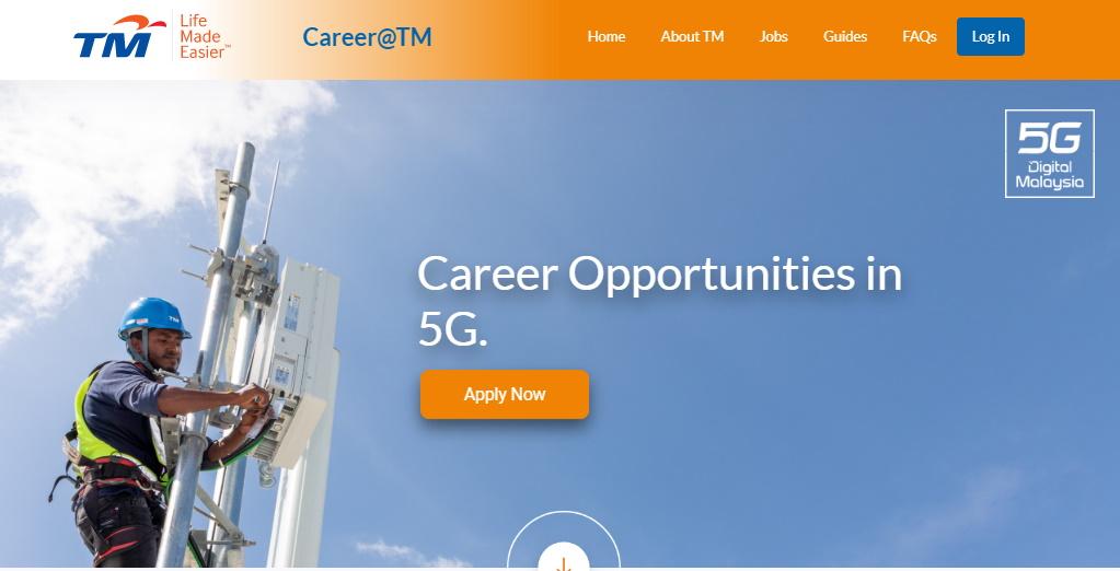 TM đang tìm kiếm nhiều chuyên gia 5G như công ty kích hoạt mạng 5G tại trụ sở chính 1
