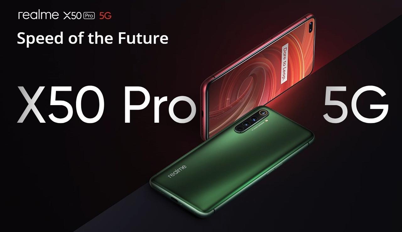 Realme X50 Pro 5G Avropada rəsmi olaraq satışa çıxarıldı; 599 avrodan qiymətlər 1