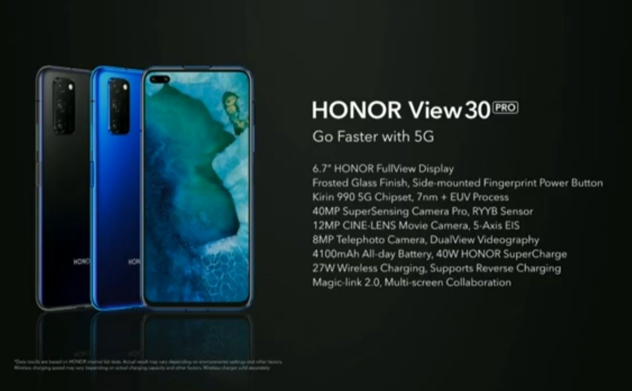 Honor View 30 Pro 5G и Honor 9X Pro лансиран за меѓународните пазари 1