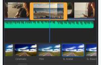 Tangkapan layar Adobe Premiere Rush, salah satu aplikasi android baru terbaik dari Juni 2019