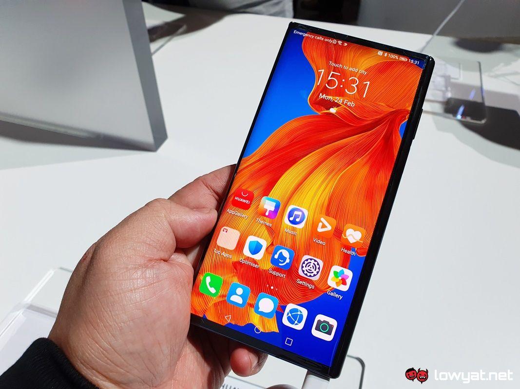 Huawei Mate Xs Handswe: Изработка на мали поправки 1