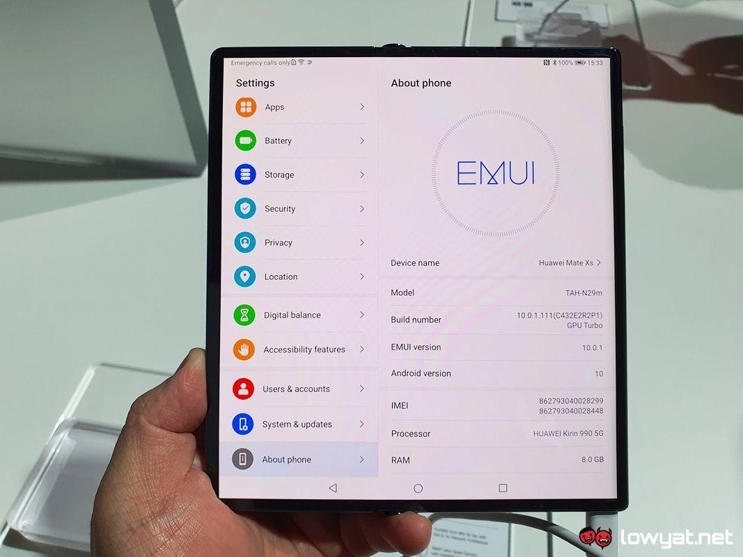 Huawei Mate Xs Handswe: Изработка на мали поправки 7