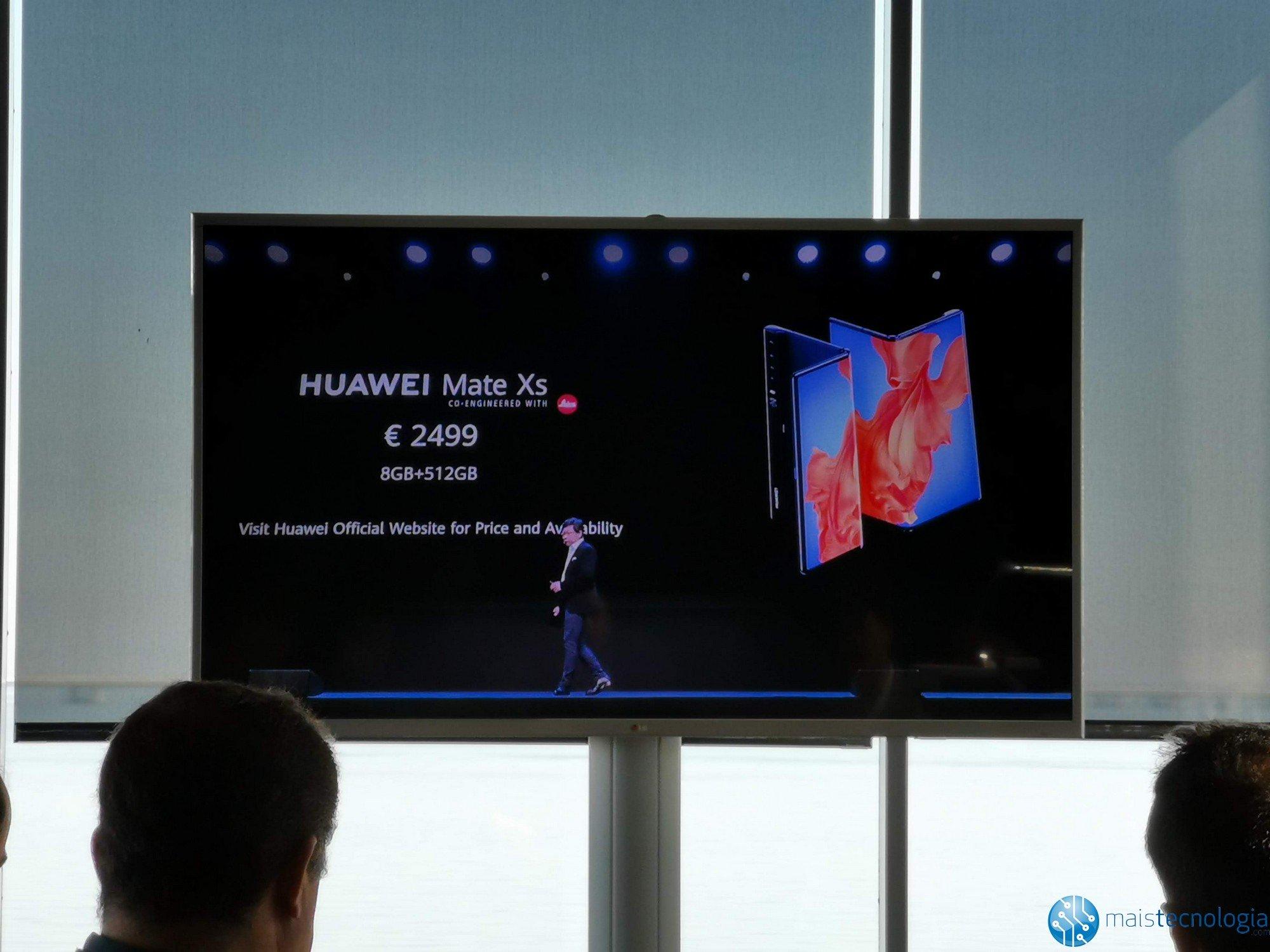 Huawei ги претставува новите Mate Xs, најновите набори 3