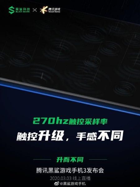 270 Hz Qara Shark ekrani