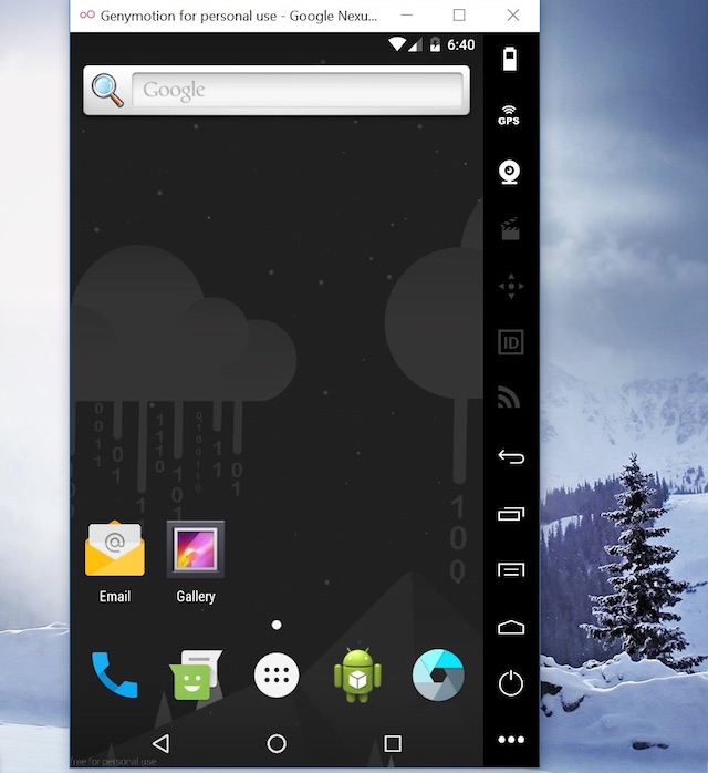 """7 için en iyi Android emülatörü Windows 6 """"genişlik ="""" 640 """"yükseklik ="""" 698 kullanabilirsiniz"""