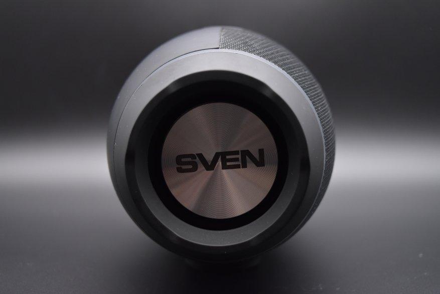 Sven PS-330: speaker nirkabel portabel dengan suara yang luar biasa 6