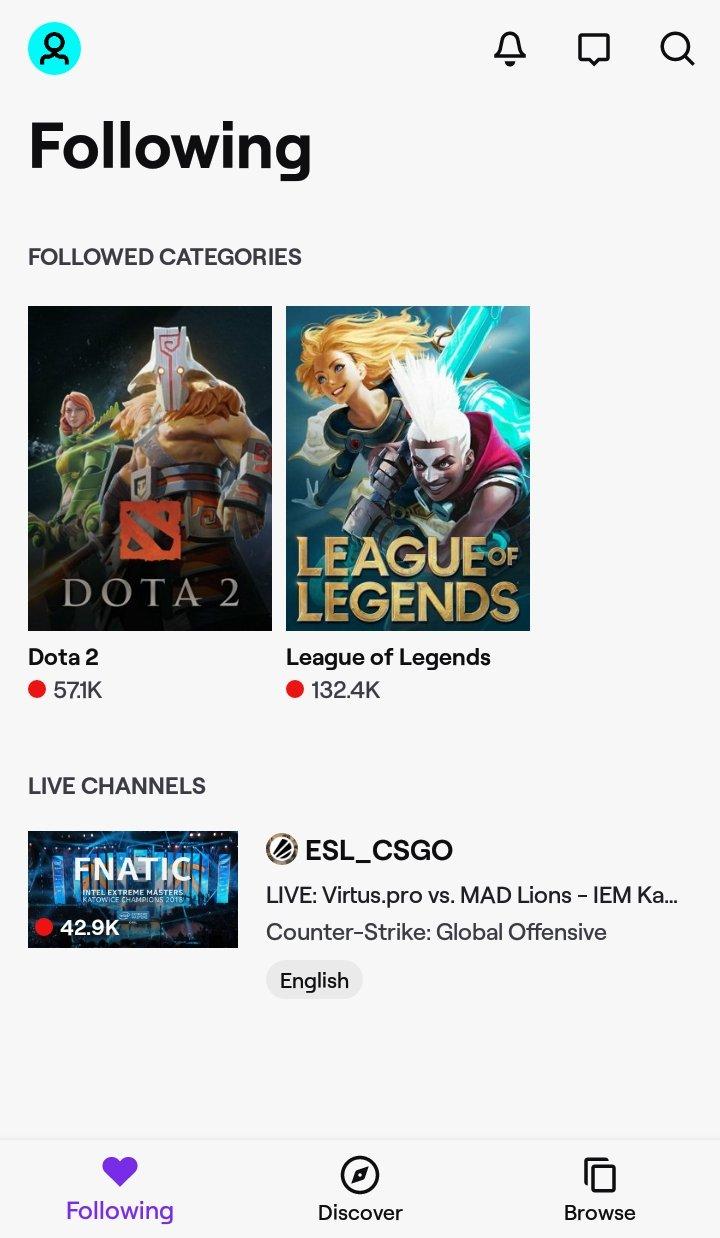 Bagaimana Menonton League of Legends di Android - Menonton Menggunakan Twitch - Aplikasi