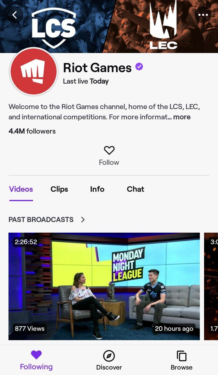 Bagaimana Menonton League of Legends di Android - Menonton Menggunakan Twitch - Game Kerusuhan