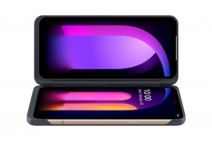 Исто така, постои и опционален двоен екран како додаток за LG V60 ThinQ.
