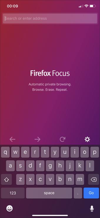 El mejor navegador de privacidad de Ipad 1