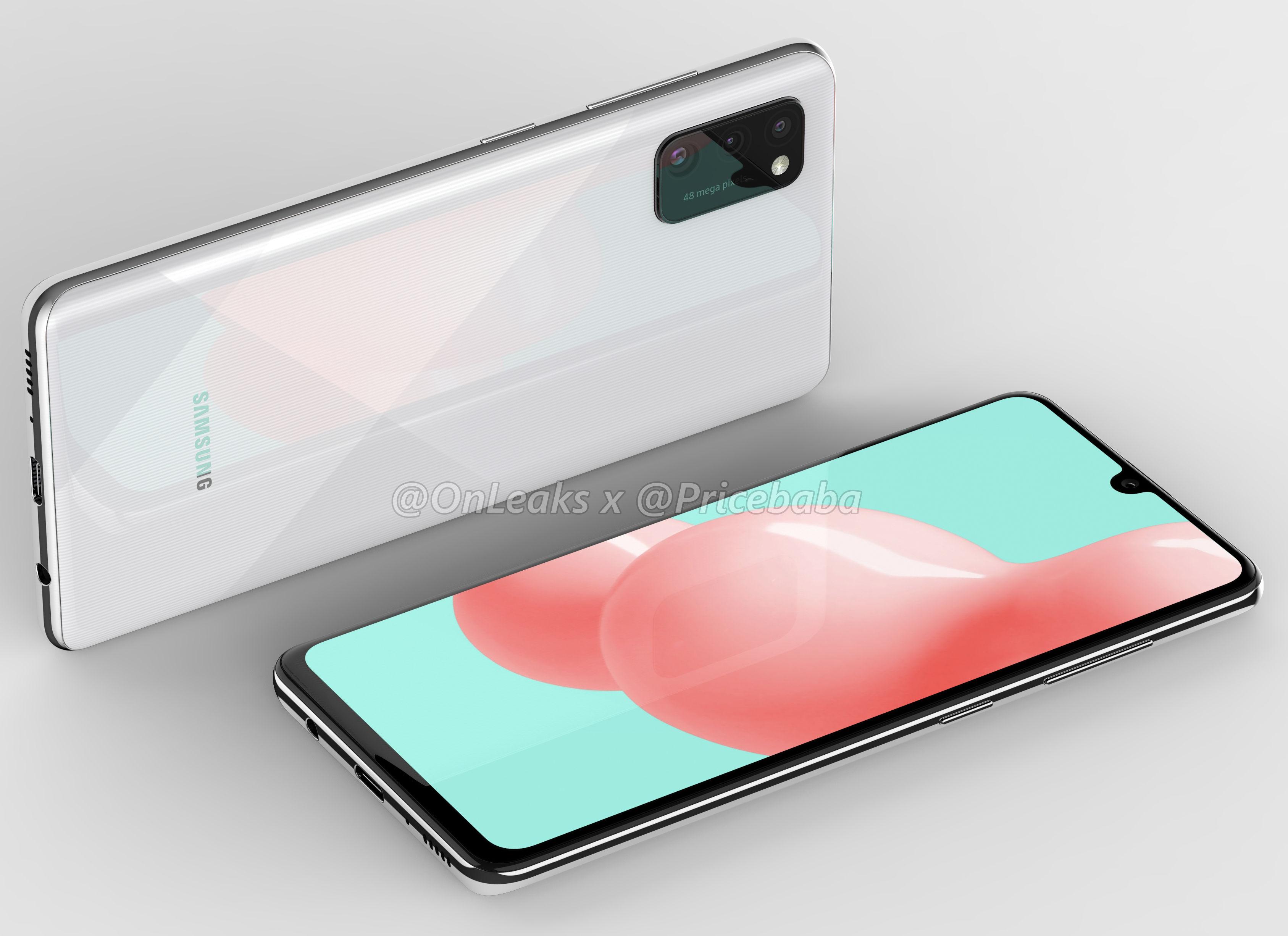 Ексклузивно: Samsung Galaxy Render A41 го открива изгледот на капки вода и три камери 48MP 3