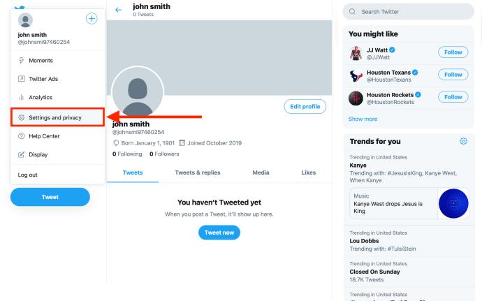 Cara Menghapus Anda Twitter Akun secara permanen 2