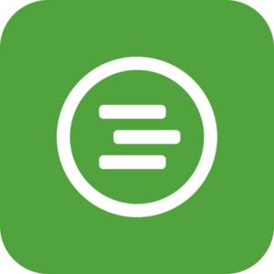 Aplicación de gestión empresarial del logotipo de Trello
