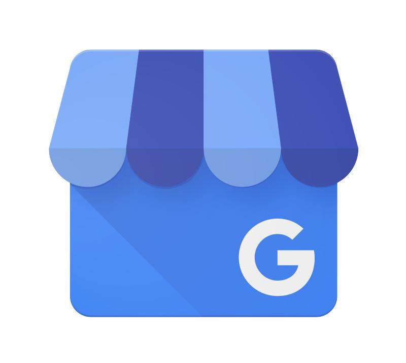 Aplicación de gestión empresarial del logotipo de Google My Business