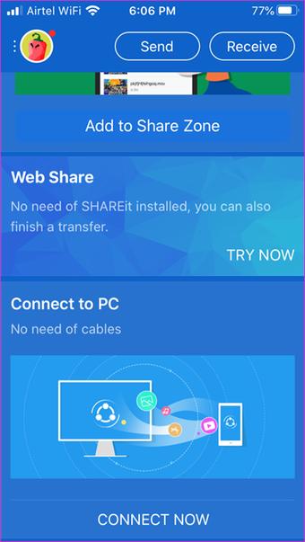 Wi Fi kullanarak i OS PC aktarma 1