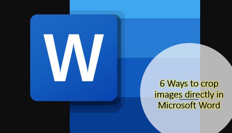 Cara untuk memotong gambar di MS-Word