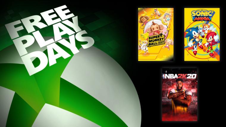 Членовите на Xbox Live Gold можат да играат бесплатно NBA 2K20, Sonic Mania и други бесплатно овој викенд 1
