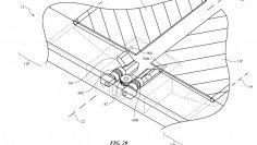 Tämä patentti on taittuva sarana Apple annettiin.