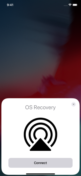 Apple        Recovery of the operating system