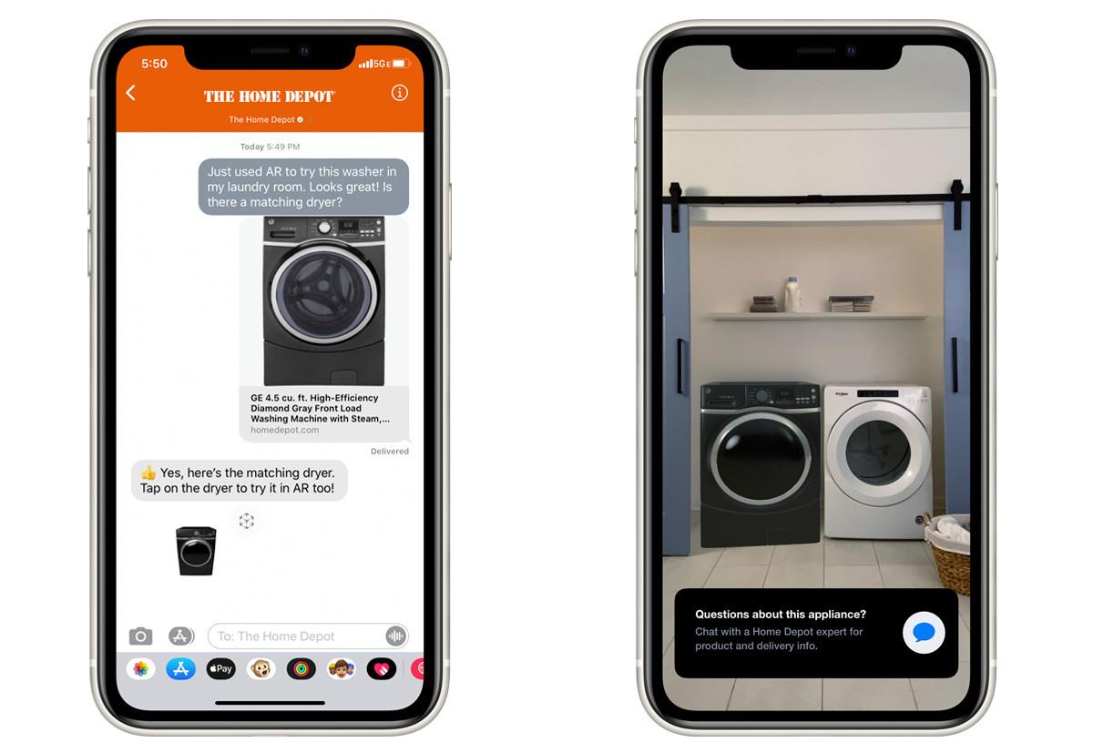 La función 'Vista rápida' de Apple ahora permite a los minoristas vender productos usando realidad aumentada 2