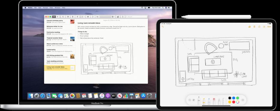 Tài liệu phác thảo liên tục của Mac