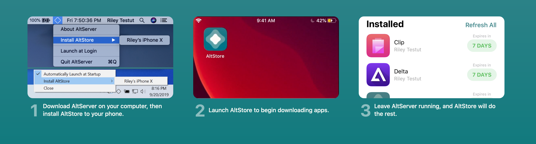 Planeando usar unc0ver para instalar un dispositivo iOS 13.0-13.3 ¿Tu A12 (X) -A13? Obtén AltStore ahora 4