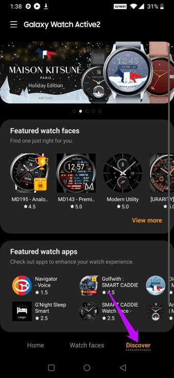 Cách thêm ứng dụng vào Samsung Galaxy Đồng hồ hoạt động 2 2