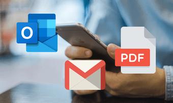 Simpan Email Sebagai Outlook Pdf, Gmail Ios Featured