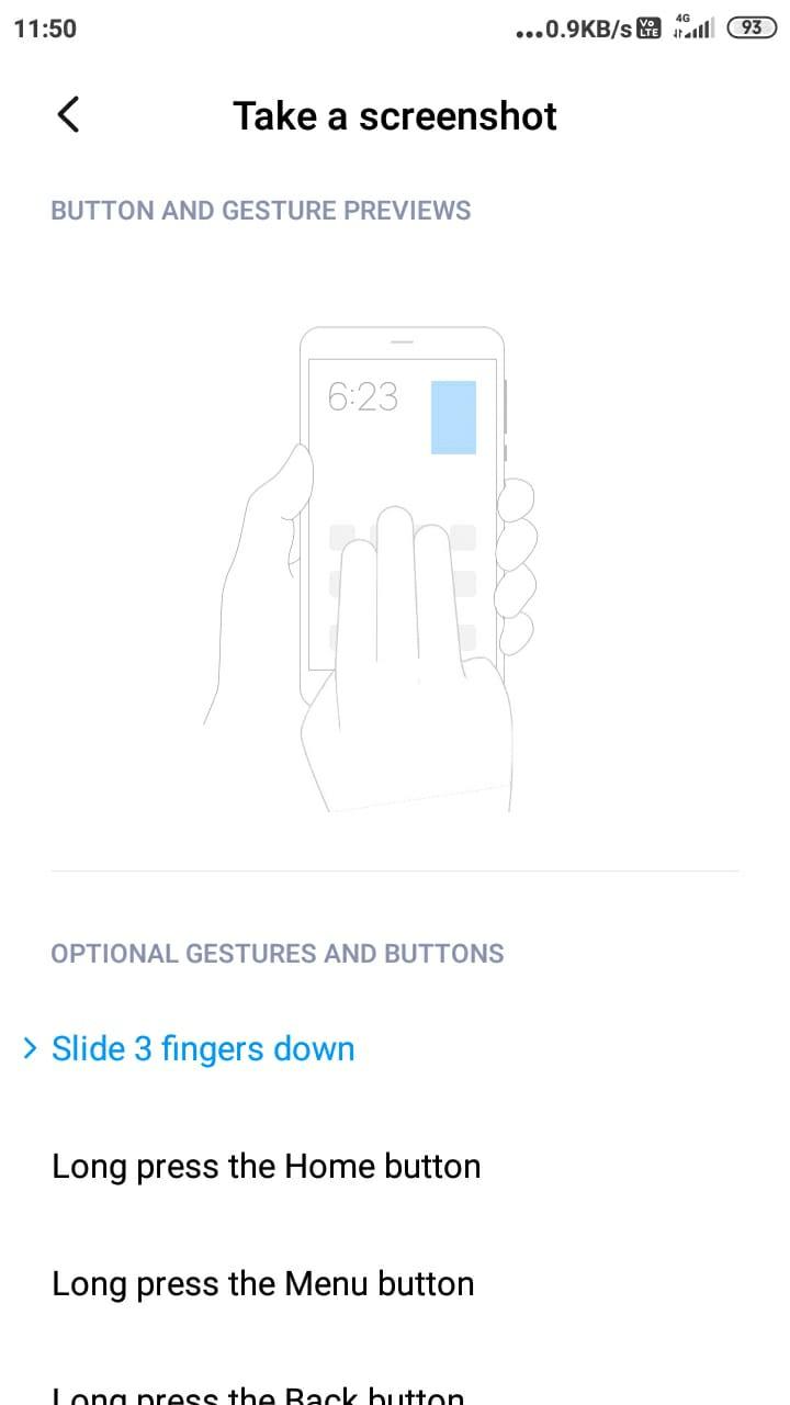 Poco X2-də ekran görüntülərini necə çəkmək olar (ən asan metod) 1