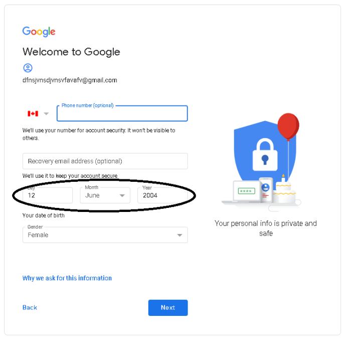 Како да се користи Gmail без телефонски број 2