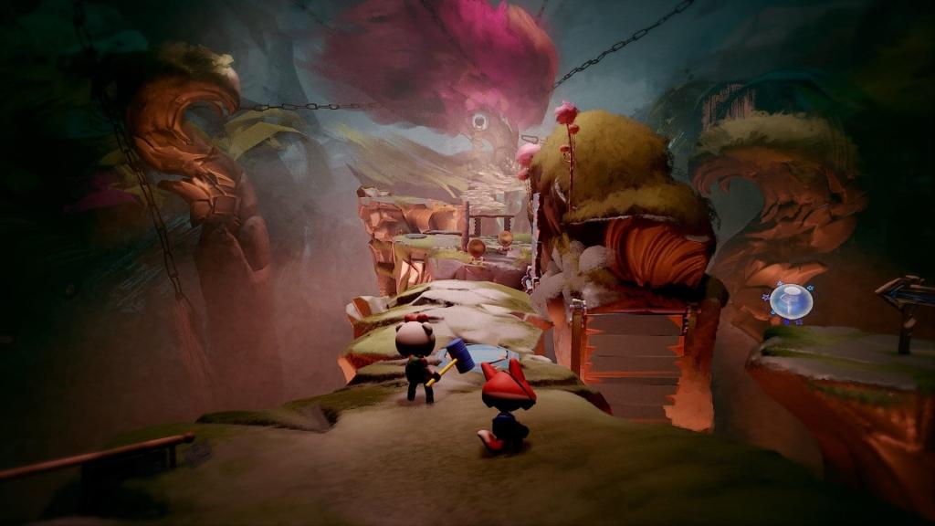 Al igual que en la serie Little Big Planet, Dreams ofrece varias herramientas para que los jugadores desaten su creatividad.