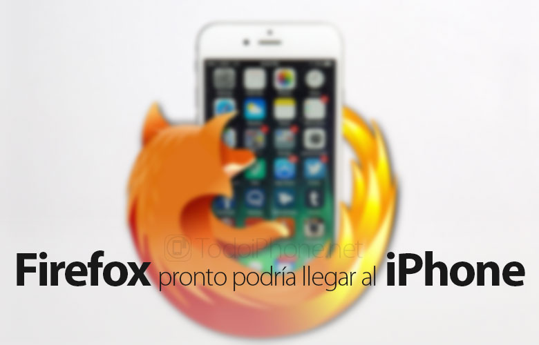 Firefox se prepara para llegar al iPhone 2