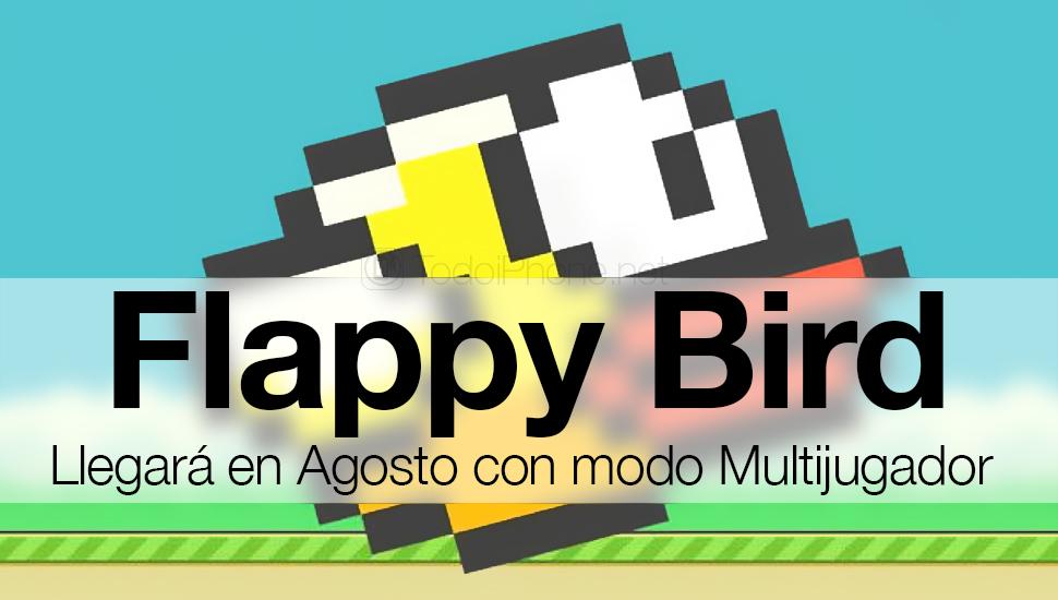 Flappy Bird regresará en agosto con un nuevo modo multijugador 2