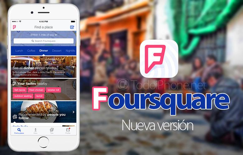 Foursquare tukee nyt myös iPad Airia, iPadia ja iPad miniä 2
