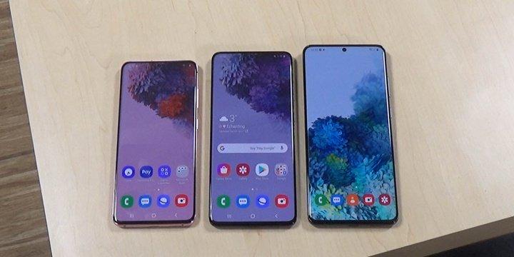 Gambar - Galaxy S20 5G, S20 + 5G dan S20 Ultra 5G: harga dengan Jeruk