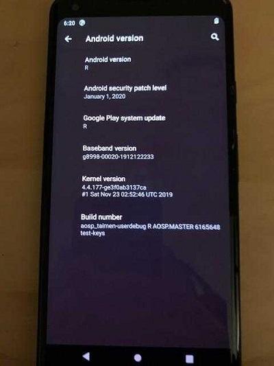 Android R (Android 11) funksiyası olan şəkillərin və PDF sənədlərinin çapını asanlaşdırmaq üçün